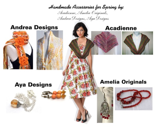 HANDMADE ACCESSORIES FOR SPRING POLYVORE